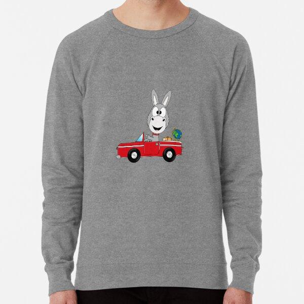 Lustiger Esel - Ass - Auto - Car - Cabrio - Weltenbummler - Reise - Weltreise - Fun Leichter Pullover