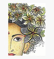 Balinese Lady Photographic Print