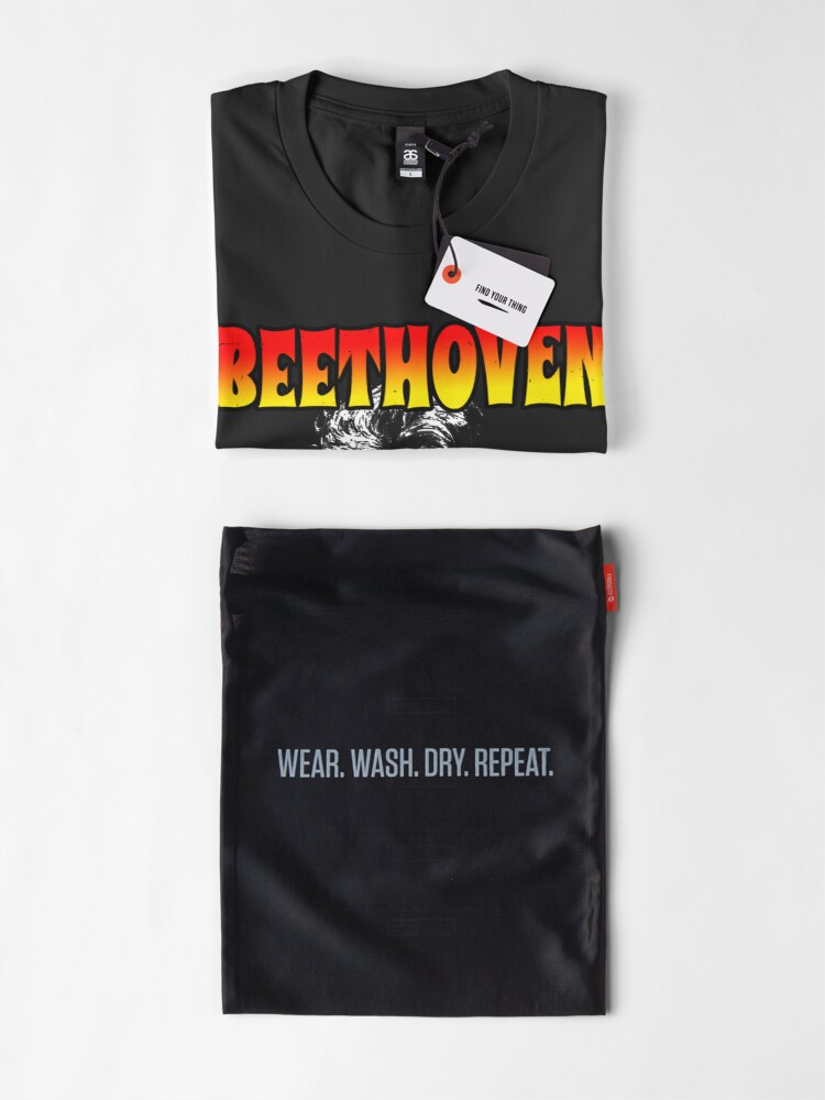 Alternate view of Beethoven Was Black (Funny Trending Twitter Tag • Viral Beethoven Was Black Hype) Premium T-Shirt