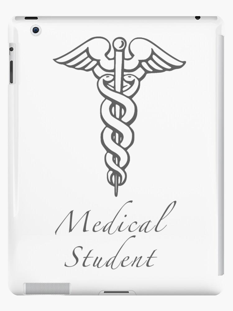 Vinilos y fundas para iPad «Estudiante de medicina» de matabela ...