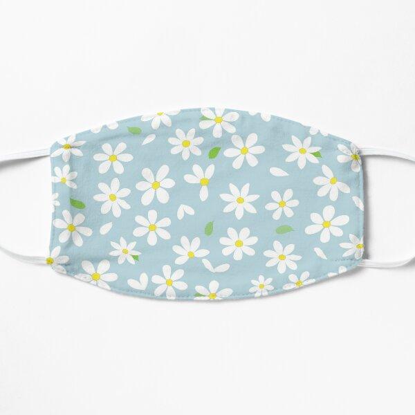 cute daisies on a blue sky Flat Mask