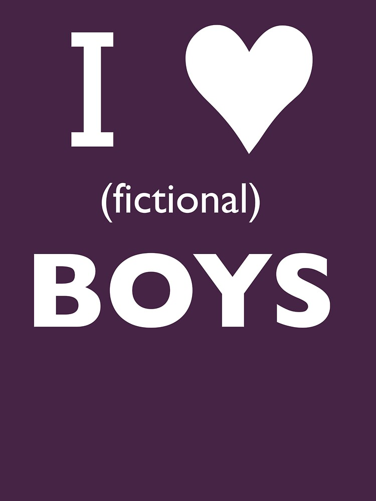 I love (fictional) boys by Kitmagic