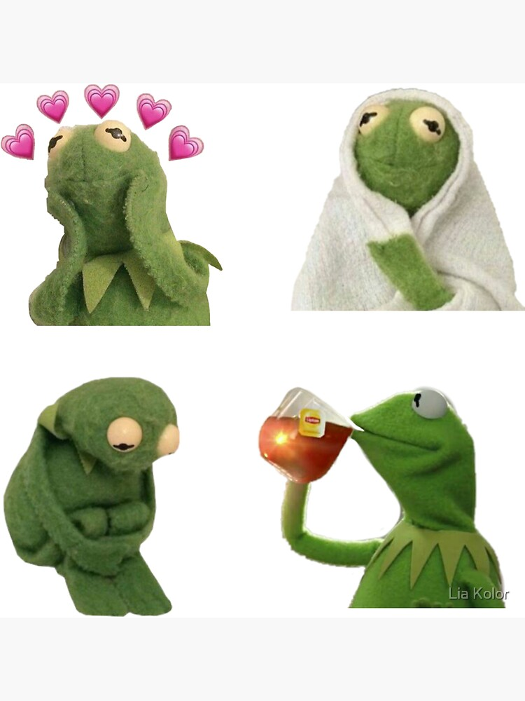 Kermit meme sticker set by LiushGirl
