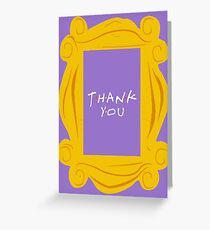 Friends thank you Greeting Card