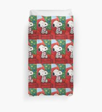 Snoopy happy christmas Duvet Cover