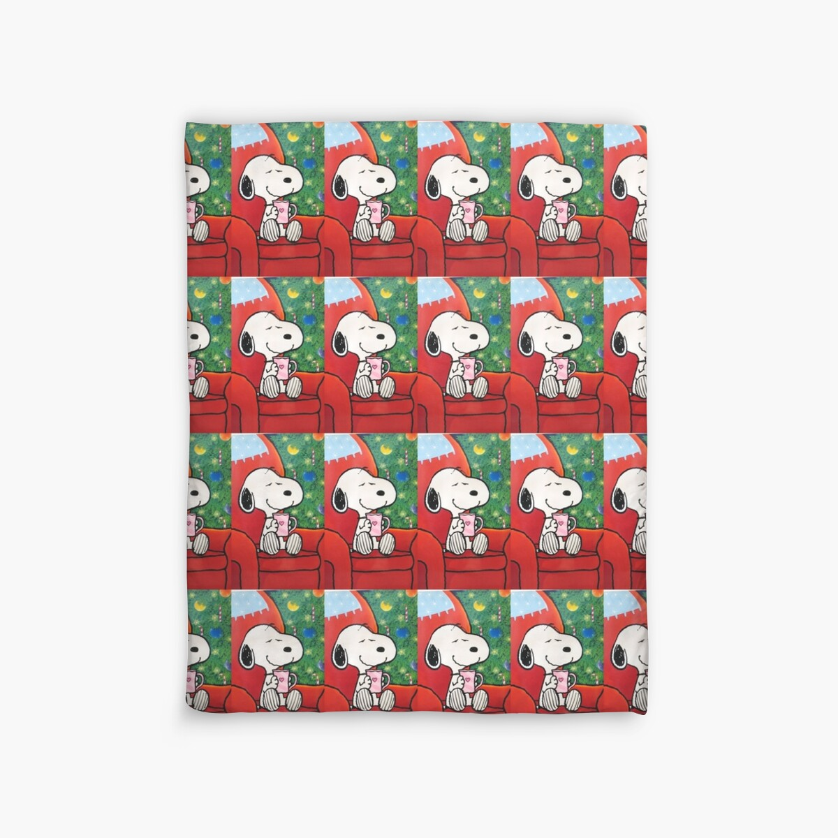Quot Snoopy Happy Christmas Quot Duvet Covers By Ringskulls