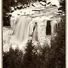 Frozen Waterfalls by KellyHeaton