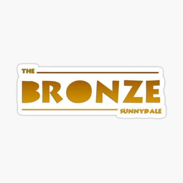 The Bronze, Sunnydale Sticker