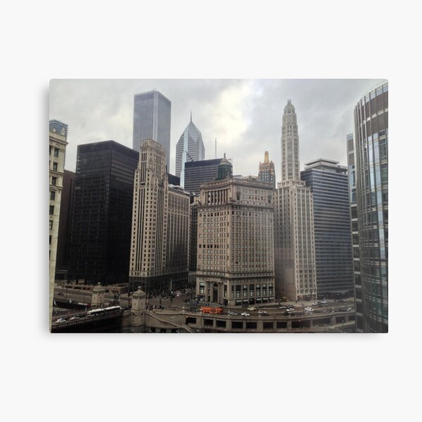 A Perspective of the City (2) Metal Print
