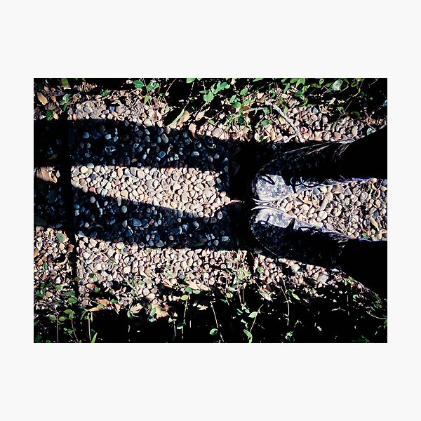 Doctor Martens and Cobblestones Photographic Print