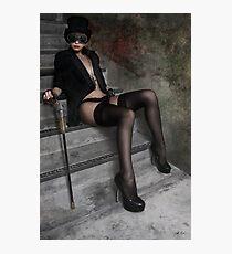 Steampunk Maiden 2 Photographic Print