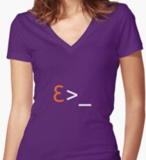 Love Terminal Women's Fitted V-Neck T-Shirt