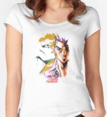 JoJo's Bizarre Adventure - Kira Women's Fitted Scoop T-Shirt