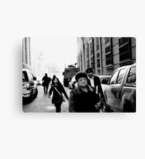 listening. they just released photo Canvas Print
