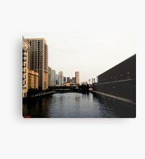 Chicago River Dreams Metal Print