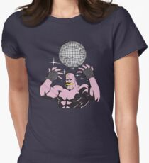 fullmetal alchemist Armstrong Disco Womens Fitted T-Shirt