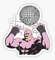 fullmetal alchemist Armstrong Disco Sticker