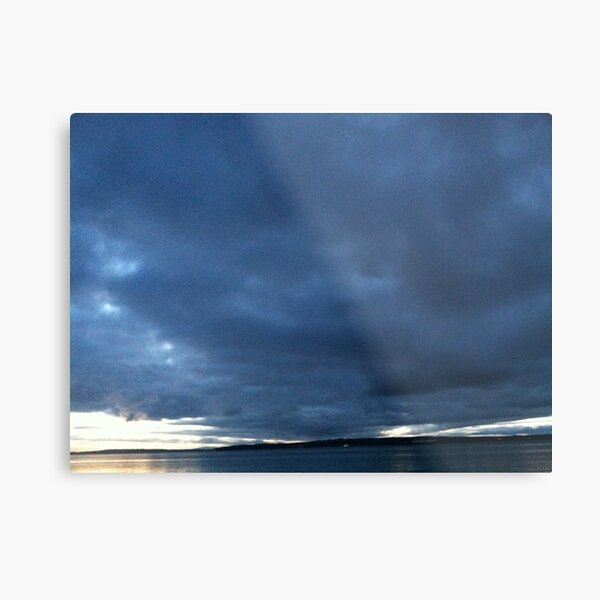 The Storm before the Calm Metal Print