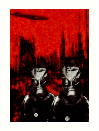 Nightmares from the Great War (1914 - 1918) - The Gas by StudioDestruct