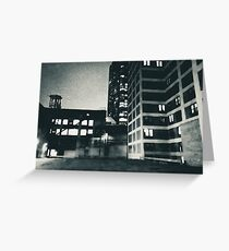 Architectural Abstraction Greeting Card