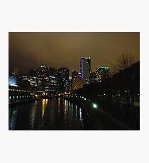 Chicago At Night Photographic Print