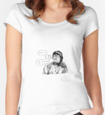 This is a jazz club, yeah? Women's Fitted Scoop T-Shirt