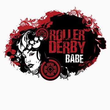 ROLLER DERBY BABE by Bluebelly