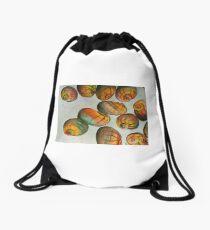 Apple Snails Drawstring Bag