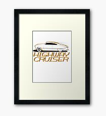 Highway cruiser... Framed Print