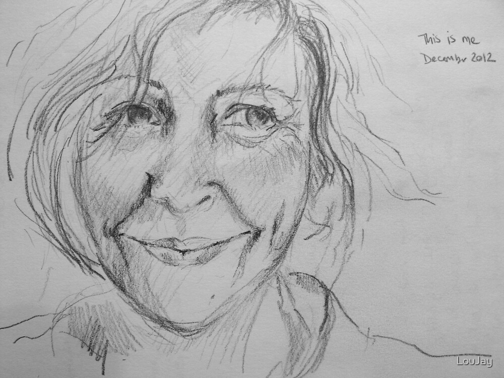 this is me - from the sketchbook by LouJay