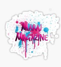 Maraj Magazine Splatter Tee Sticker