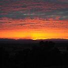 Sunrise, near Whittlesea, Victoria by Heather Samsa