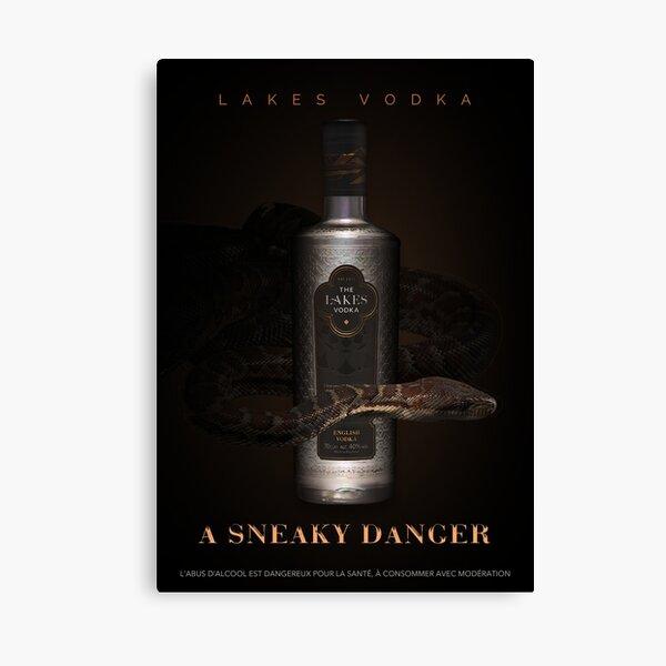 Vodka noire Impression sur toile