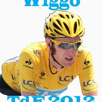 Bradley Wiggins - Tour de France 2012 by MelTho