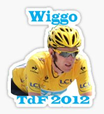 Bradley Wiggins - Tour de France 2012 Sticker