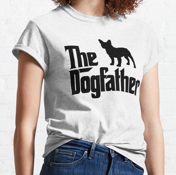 The Dogfather French Bulldog Classic T-Shirt