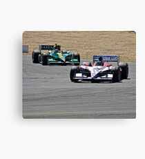 Competition in Turn 8 Canvas Print