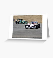 Competition in Turn 8 Greeting Card