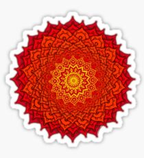 okshirahm rose mandala Sticker