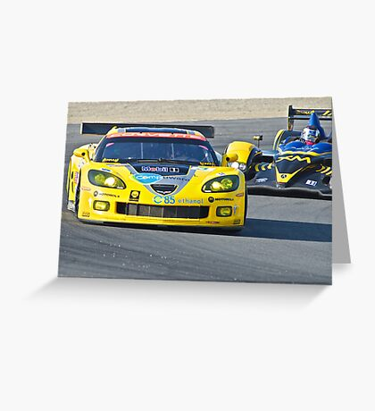 Corvette LeMans GT Greeting Card