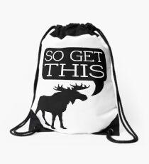 So Get This Drawstring Bag