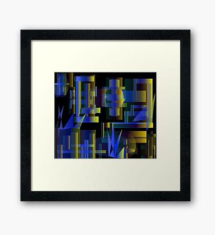 Industrial Dance Framed Print
