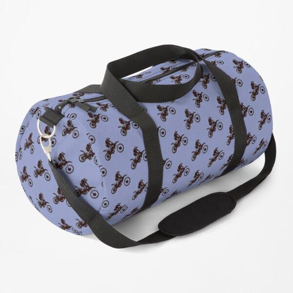 Motor X Silhouette  Duffle Bag