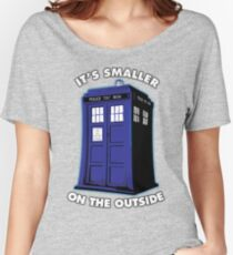 It's Smaller on the Outside Women's Relaxed Fit T-Shirt