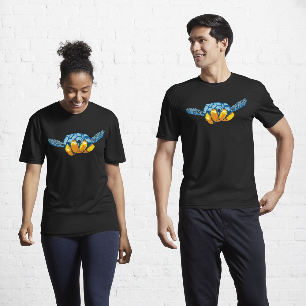 Turtle Hand Signal Active T-Shirt