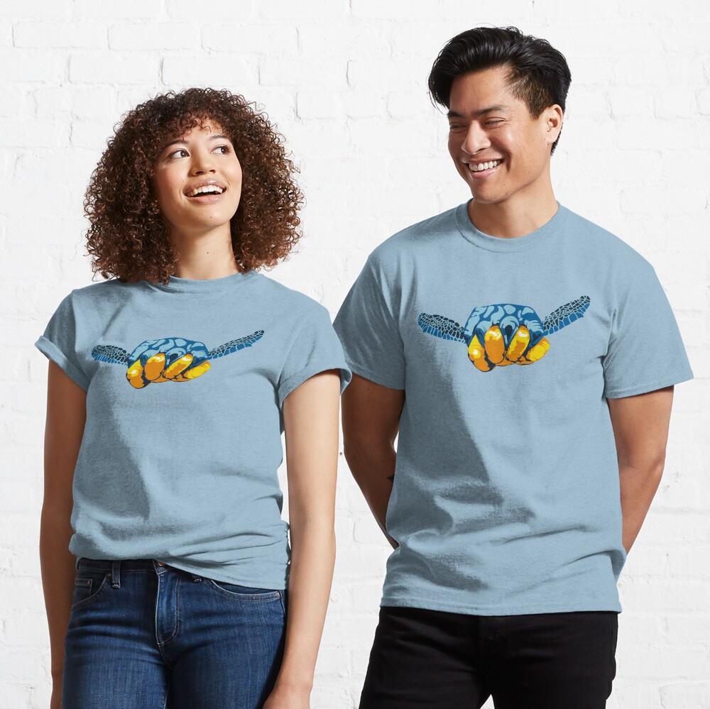 Turtle Hand Signal Classic T-Shirt