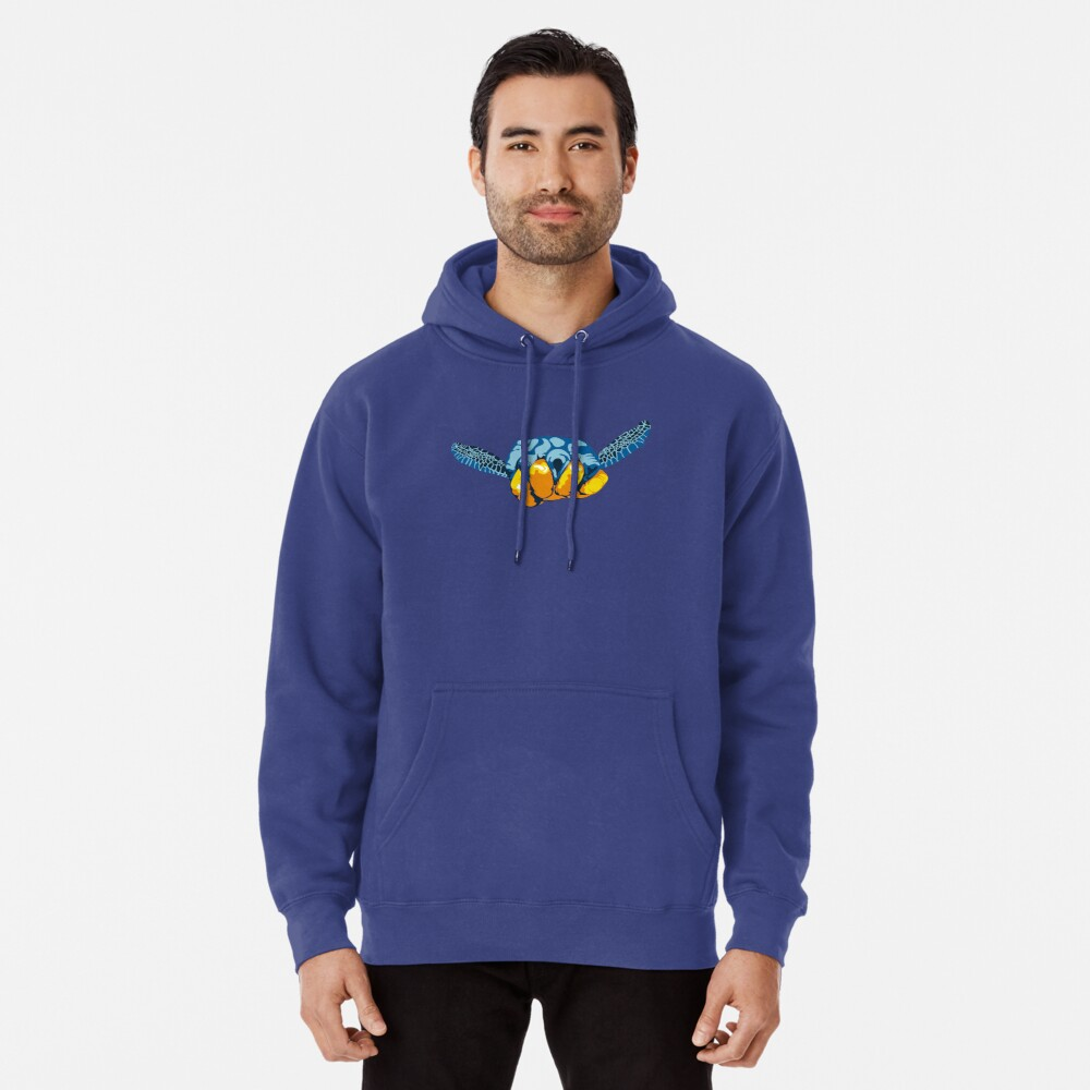 Turtle Hand Signal Pullover Hoodie
