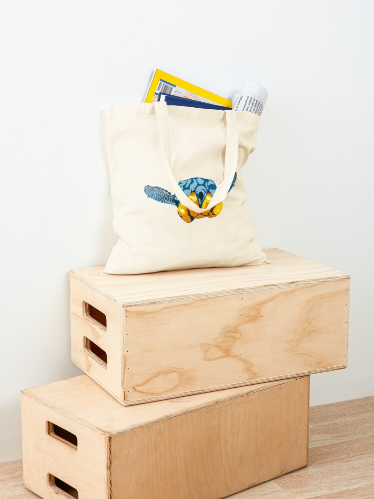 Alternate view of Turtle Hand Signal Tote Bag