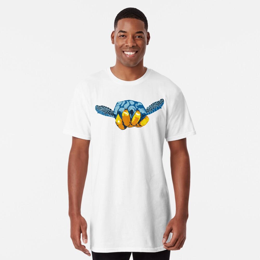 Turtle Hand Signal Long T-Shirt