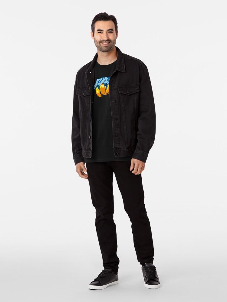 Alternate view of Turtle Hand Signal Premium T-Shirt